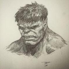 The Hulk by Dave Rapoza *