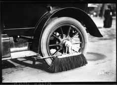 Before There Were Spinners and Floaters, There Were Scrubbers. Look At These Wire Brushes from the 1912 Mudguard Contest in Paris