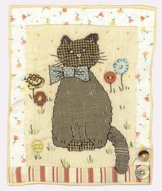 ❤ =^..^= ❤    Sharon Blackman | Mini-quilt Nellie