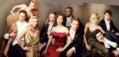 VANITY FAIR (March 2015, posted February 3) ~ Fold out cover photo of The Hollywood Issue. [Click for article, photo gallery, and video]