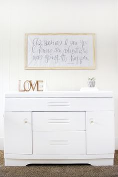 Nursery Changing Table Makever