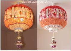 This BOHEMIAN STYLE LAMPSHADE I made for my (kind of) BOUDOIR style bedroom, and I hope that this tutorial and pictures will INSPIRE you to make your own lampshades – it is EASY and DOABLE. I…