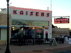 Kaisers in Oklahoma City for ice cream.  My grandfather's barber shop was just across the street.