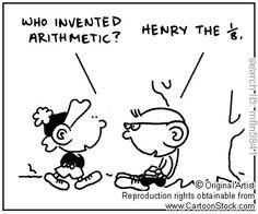 Math teacher cartoon