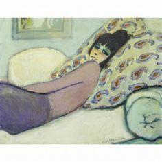 Jean Pierre Cassigneul - RECLINING WOMAN