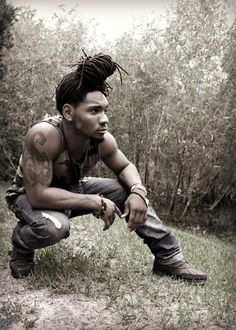 dreads :))) He is ..... :: Shop DreadStop.Com for Premium Leather Dread Cuff #dreadstop