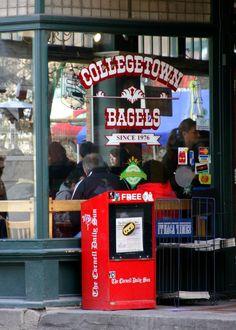 Collegetown Bagels.