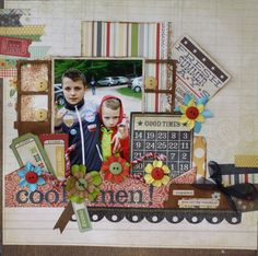 Cool Men** Aug MY CREATIVE SCRAPBOOK** - Scrapbook.com