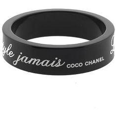 Chanel Lucite 'Le mode' Bracelet