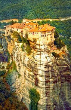 Meteora Monastery in Greece -