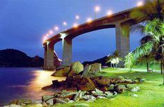 Bridge connecting Vila Velha to Vitória, Espírito Santo