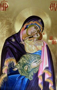 Religious Images, Religious Icons, Religious Art, Byzantine Icons, Byzantine Art, Madonna, Jesus Pictures, Catholic Art, Orthodox Icons