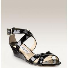 b6d7223bed49 Jimmy Choo Connor Wedges Sandal Black is a fashion style hot sale in this  season!