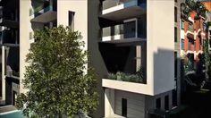 Real Estate Movie - Milano - render 3D esterno  - architettura