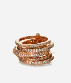 Henri Bendel Luxe Petite Hand Me Down Stack Ring