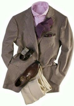 Taupe, Pink & Mauve? Only real men wear this color combo!