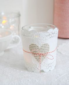 DIY #Valentine Luminaries