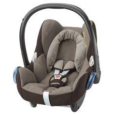 GRUPO CERO CABRIOFIX EARTH-BROWN MAXICOSI.  La Maxi-Cosi CabrioFix es una silla de auto para bebés de 0 a 13 kg (desde el nacimiento hasta los 12 meses aproximadamente).  La silla de auto Maxi-Cosi CabrioFix debe instalarse siempre en sentido contrario a la marcha, y con el cinturón de seguridad de 3 puntos del automóvil.