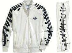 Jeremy Scott for Adidas Originals Music Note Tracksuit