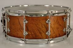"""Craviotto 6x14"""" Limited Maple w/Walnut Stain Snare Drum - USED"""