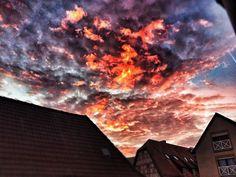 #armageddon #Wolkjen #clouds #Hockenheim #iPhone5s