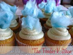 Cotton Candy Cupcakes by The Foodies' Kitchen, via Flickr