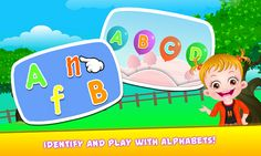 Enjoy and play fun-packed alphabets games with Baby Hazel https://www.youtube.com/watch?v=dOLcEN4Wf94