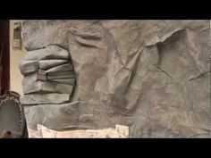 Fake Rock Face/texture tips - YouTube