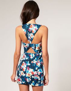 Flower print...perfect for summer.