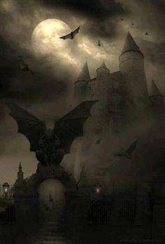 Halloween-Haunted castle