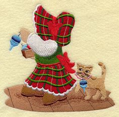 Trimming the Tree with Sunbonnet Sue