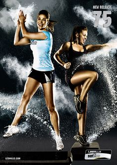 Body Step from Les Mills! One of the best ways to burn calories!!