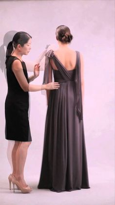 Nabi Dress-Style 4 (Criss Cross V-Neck Tied Shoulders) 8c9505702545