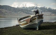 "Lake Plastira, also known as ""Little Switzerland"", near the city of Karditsa, Greece"