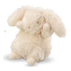 Plush Springtime Baby Rabbit from Bunnies by the Bay