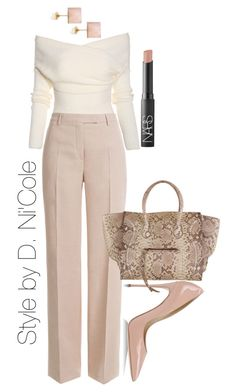 A fashion look from February 2015 featuring Emilio Pucci pants, Dolce&Gabbana pu… A fashion look from February 2015 featuring Emilio Pucci pants, Dolce&Gabbana pumps and Vita Fede earrings. Browse and shop related looks. Work Fashion, Fashion Looks, Fashion Outfits, Womens Fashion, Fashion Trends, Classy Outfits, Stylish Outfits, Style Feminin, Looks Plus Size