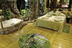 Habitación Iguazú, Hotel Valdivia. Santiago, Chile