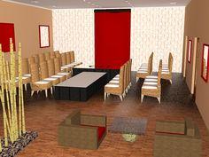 Salon eventos - Hotel Carolina Herrera- 1 Event Room, Carolina Herrera, Conference Room, Rooms, Table, Furniture, Home Decor, Events, Kitchen