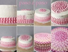 Cupcakelosophy: Pink Ombre Cake