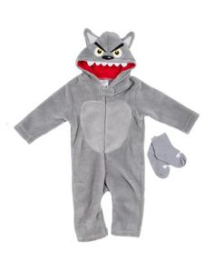 Big Bad Wolf Baby Costume  sc 1 st  Pinterest & Baby Grey Wolf Costume | My Boys | Pinterest | Wolf costume ...