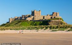 While most of Britain was in the 'Dark Ages' one area was playing host to visitors from across Europe, researchers studying bones uncovered near Bamburgh Castle claim St Aidans, Durham University, Canterbury Cathedral, York Minster, Christian Wife, Early Middle Ages, Royal Court, The Dunes, Wales