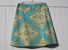 A Line Kaleidoscope Skirt Joel Dewberry by SewingSeedsBySelena