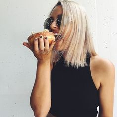 Doughnuts rule! YUM. Follow us on Instagram @dissh_boutiques for daily inspo