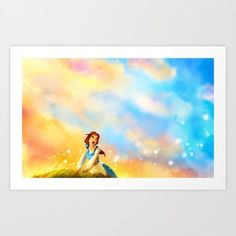Art Print featuring This Provincial Life by Alice X. Zhang