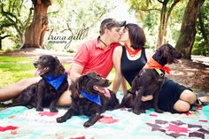 "Family with Pets  Charleston Photography  Copyright Trina Gill Photography - Don't forget to ""LIKE"" me! http://www.facebook.com/TrinaGillPhotography"
