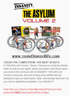 Part 2, because once you go insane you will never be the same... www.yosiefitness4life.com