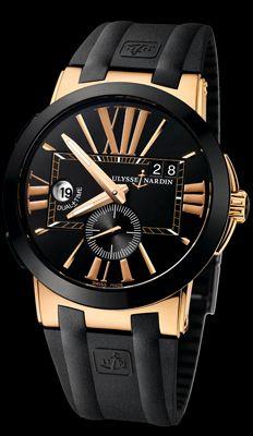 Encontré EL reloj! Ulysses Nardin: Executive Dual Time