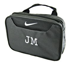 Nike Toiletry Kit by jansnstitches on Etsy Personalized Graduation Gifts, Travel Size Bottles, Travel Size Products, Groomsmen, Gym Bag, Great Gifts, My Etsy Shop, Pouch, Buy And Sell
