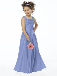 Periwinkle Flower Girl