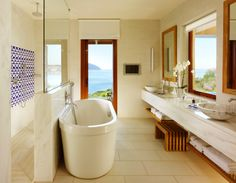 Relaxing Bathroom View